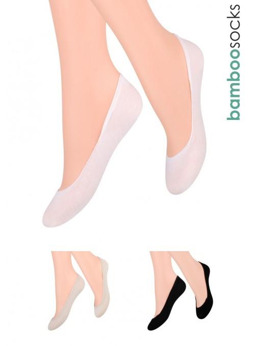 Dámské balerínky ponožky 029 STEVEN