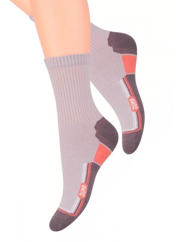 Dámské klasické ponožky 026/19 STEVEN   béžová   velkoobchod HOTEX