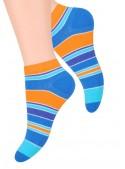 Dámské kotníkové ponožky vzor 052/105 STEVEN