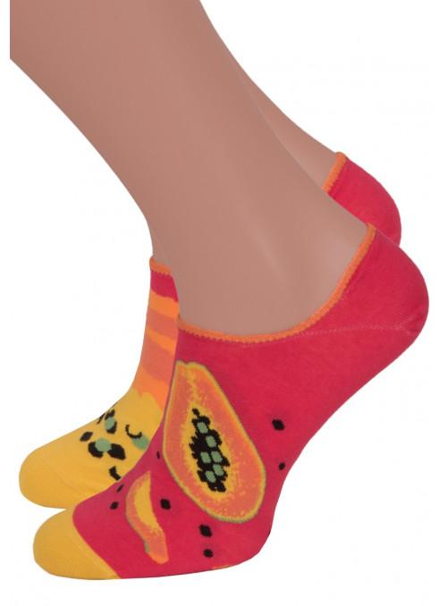 Dámské kotníkové ponožky 005/002 MORE