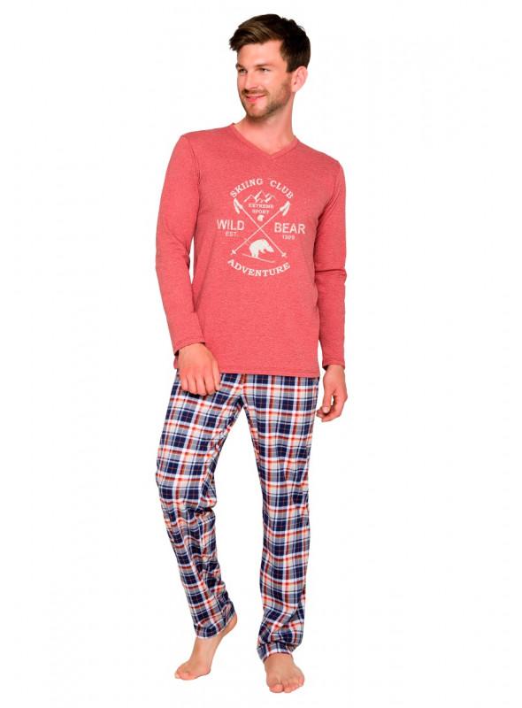 Pánské pyžamo Arek 2130/7 TARO | velkoobchod HOTEX