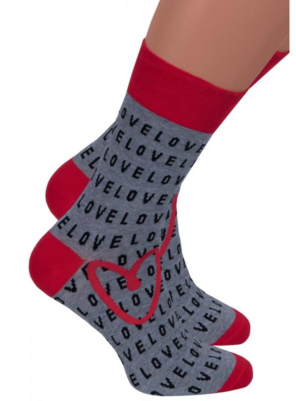 Pánské klasické ponožky 136/37 STEVEN