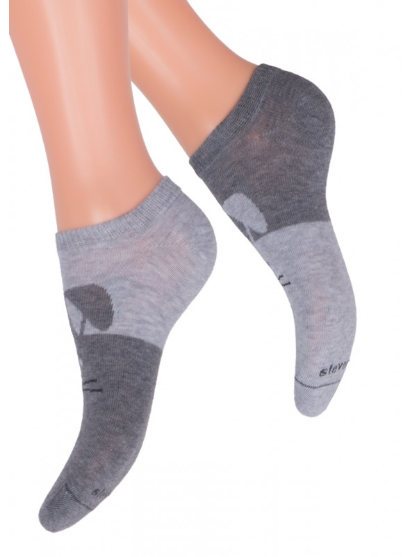 Dívčí kotníkové ponožky 004/22 STEVEN
