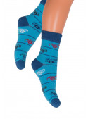 Chlapecké klasické ponožky 014/26 STEVEN