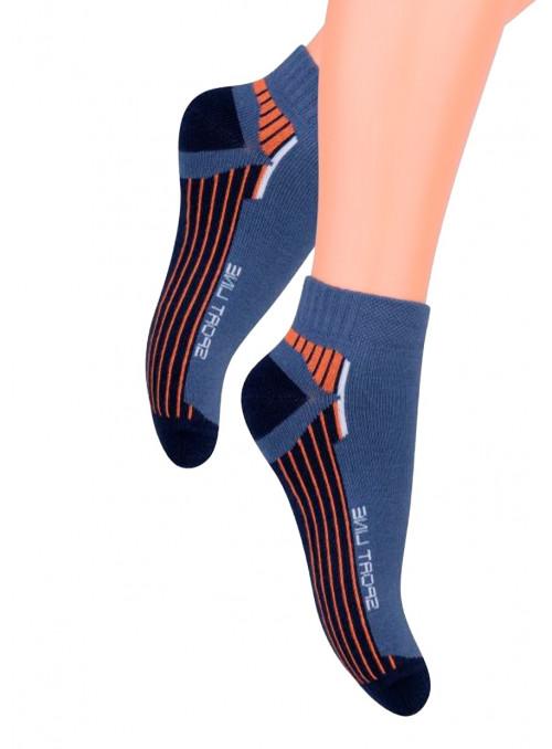 Chlapecké kotníkové ponožky 004/5 STEVEN | velkoobchod HOTEX