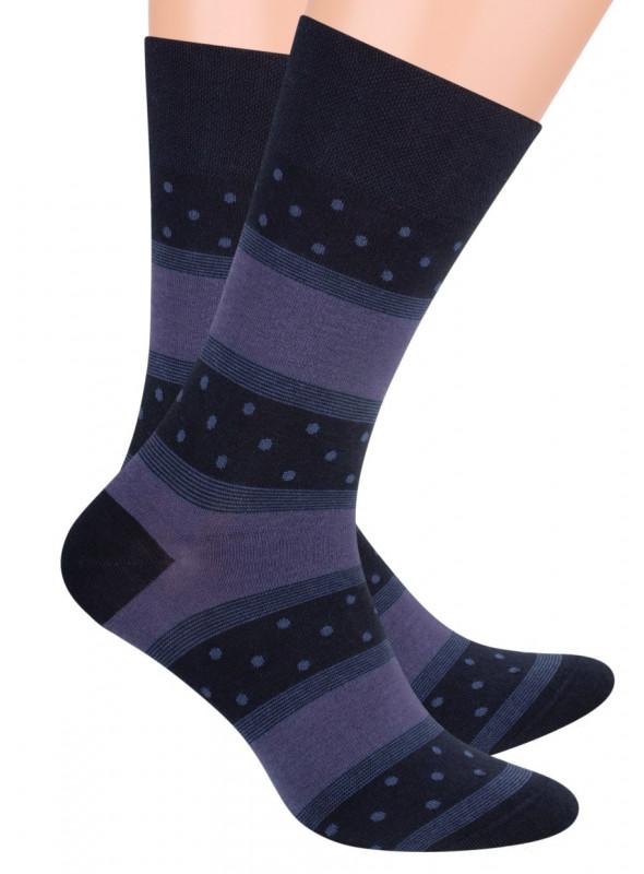 Pánské klasické ponožky 056/22 STEVEN | velkoobchod HOTEX