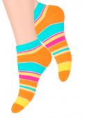 Dámské kotníkové ponožky vzor 052/102 STEVEN