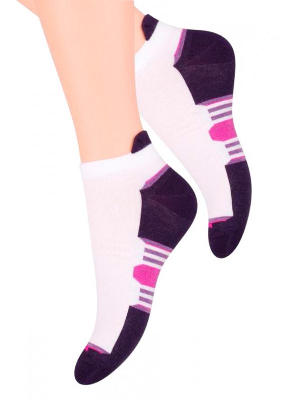 Dámské kotníkové ponožky vzor 050/10 STEVEN   velkoobchod HOTEX