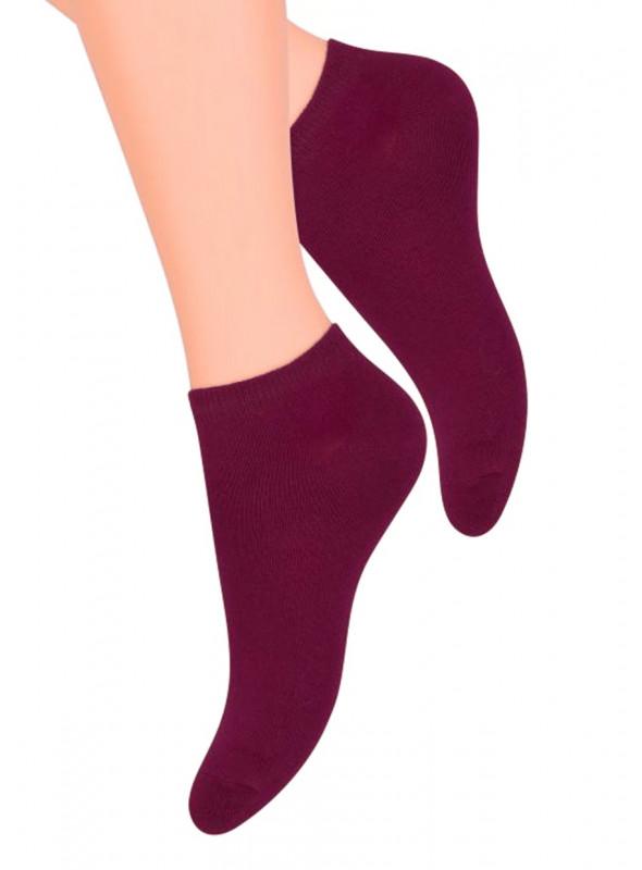 Dámské kotníkové ponožky 052 STEVEN