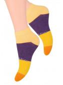 Dámské kotníkové ponožky vzor 052/63 STEVEN