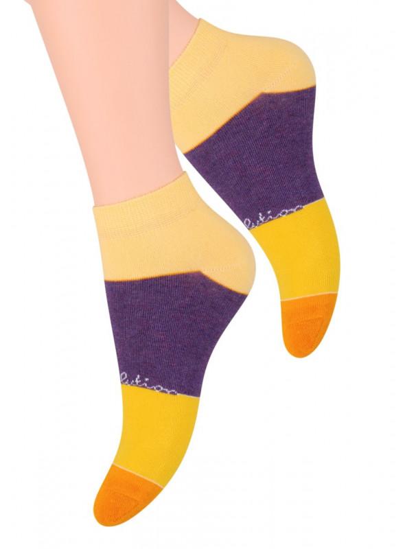 Dámské kotníkové ponožky vzor 052/5 STEVEN | velkoobchod HOTEX