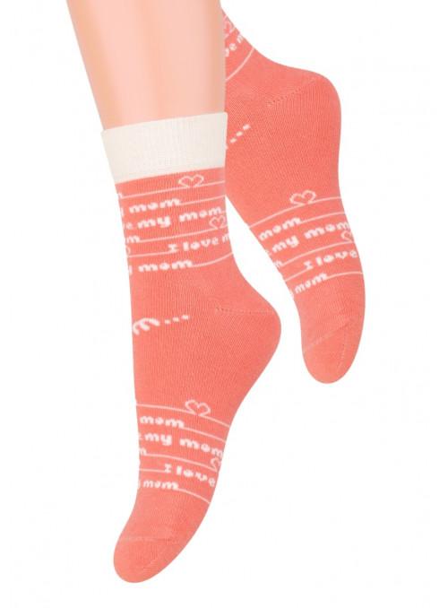 Dívčí klasické ponožky vzor 014/18 STEVEN | velkoobchod HOTEX