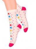 Dívčí klasické ponožky vzor 014/126 STEVEN