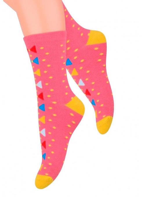 Dívčí klasické ponožky vzor 014/13 STEVEN | velkoobchod HOTEX