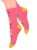 Dívčí klasické ponožky vzor 014/127 STEVEN