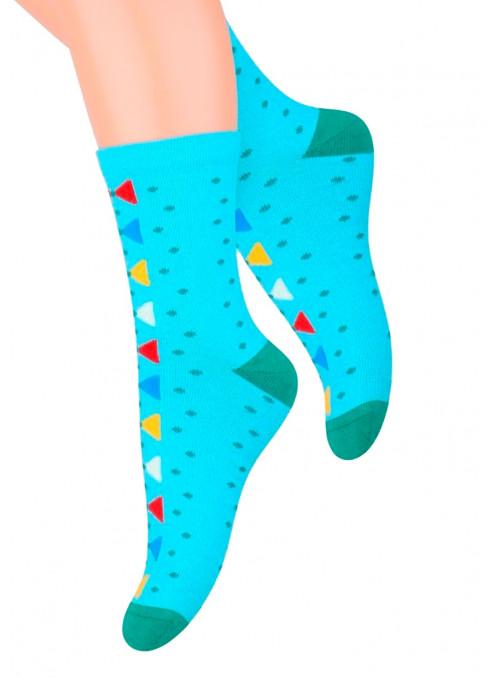 Dívčí klasické ponožky vzor 014/13 STEVEN   velkoobchod HOTEX