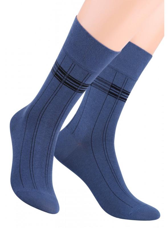 Pánské klasické ponožky 056/7 STEVEN | velkoobchod HOTEX