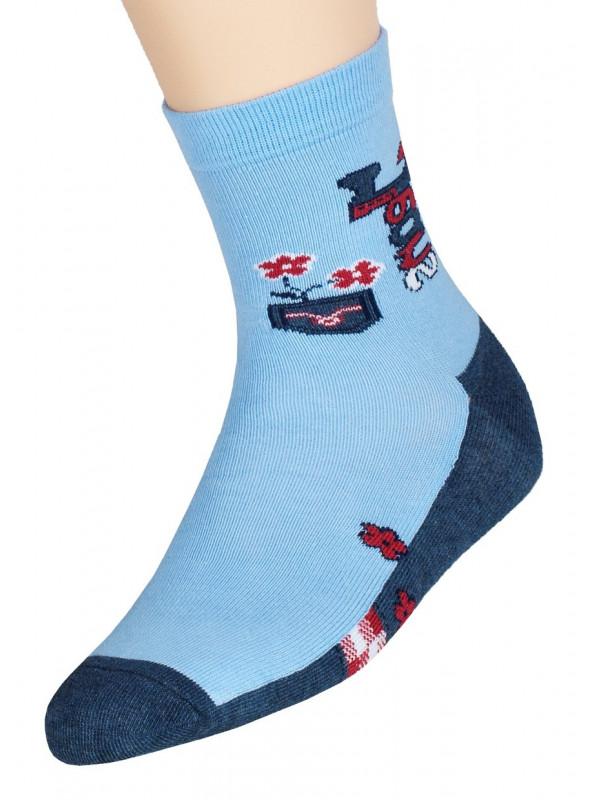 Dívčí klasické ponožky vzor 014/6 STEVEN | velkoobchod HOTEX
