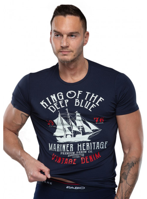 Pánské tričko Hard 09/1-82/66+816 FABIO
