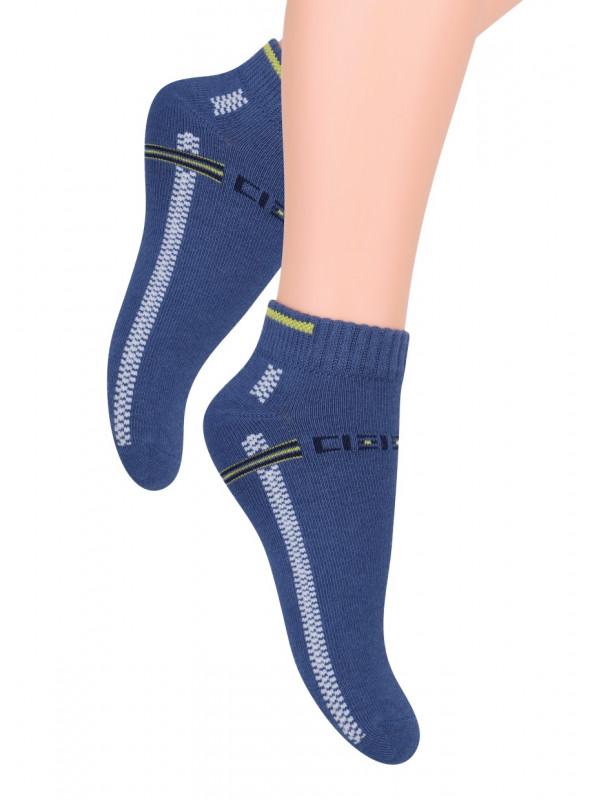 Chlapecké kotníkové ponožky 004/2 STEVEN | velkoobchod HOTEX