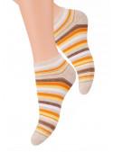 Dámské kotníkové ponožky vzor 052/26 STEVEN