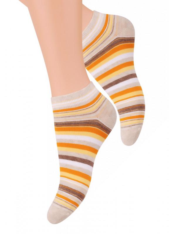 Dámské kotníkové ponožky vzor 052/1 STEVEN | velkoobchod HOTEX