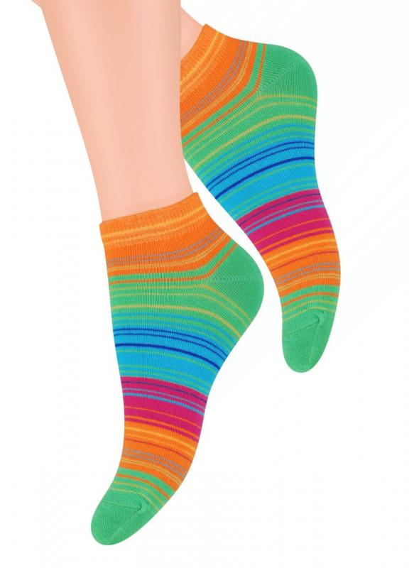 Dámské kotníkové ponožky vzor 052/4 STEVEN | velkoobchod HOTEX