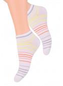 Dámské kotníkové ponožky vzor 052/55 STEVEN