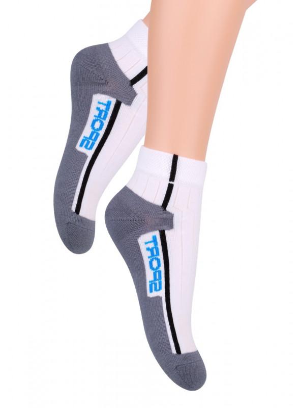 Chlapecké kotníkové ponožky 004/1 STEVEN   velkoobchod HOTEX
