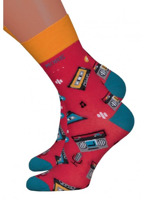 Dámské klasické ponožky 078/015 MORE