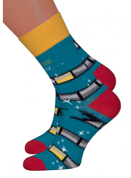Dámské klasické ponožky 078/017 MORE