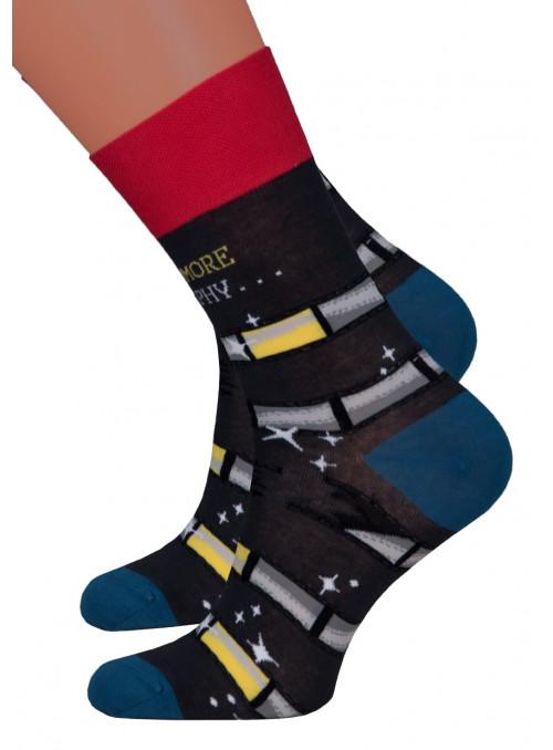 Dámské klasické ponožky 078/018 MORE