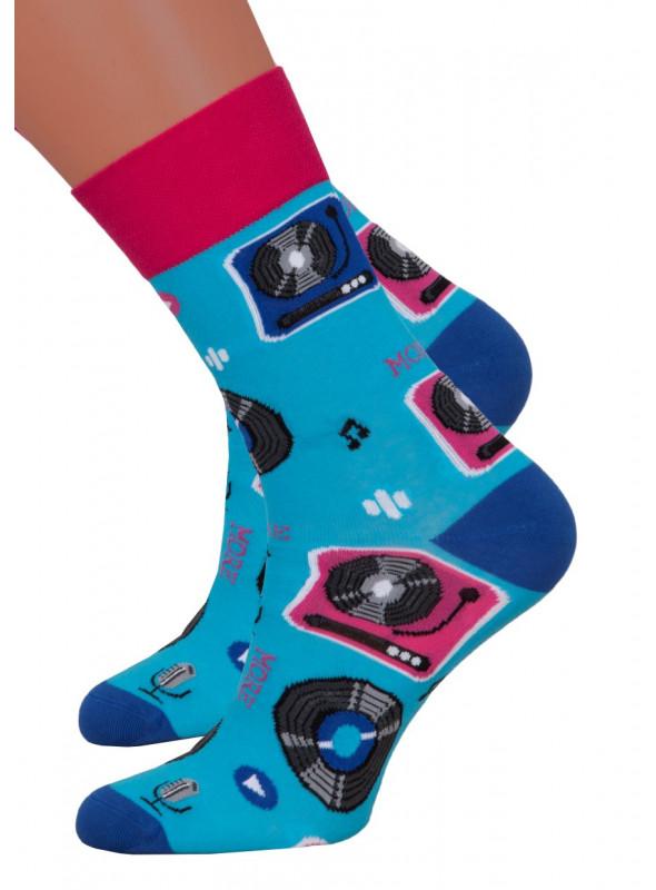 Dámské klasické ponožky 078/016 MORE