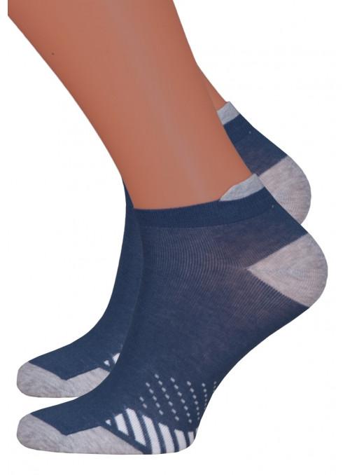 Dámské kotníkové ponožky vzor 050/83 STEVEN