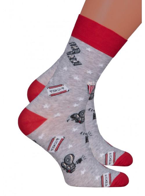 Dívčí klasické ponožky 022/271 STEVEN