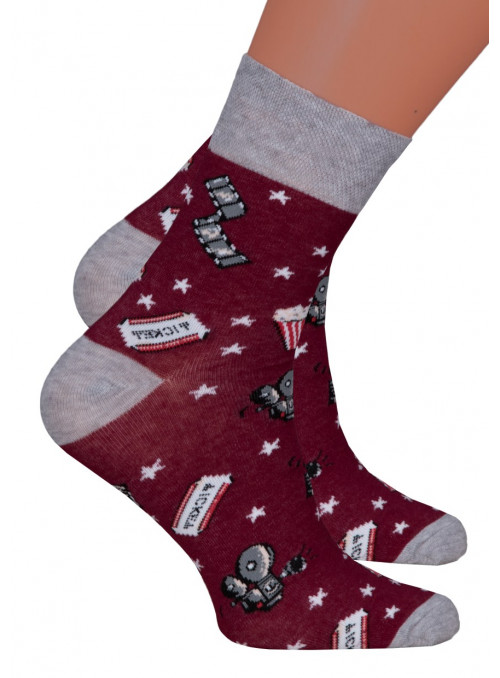 Dívčí klasické ponožky 022/273 STEVEN