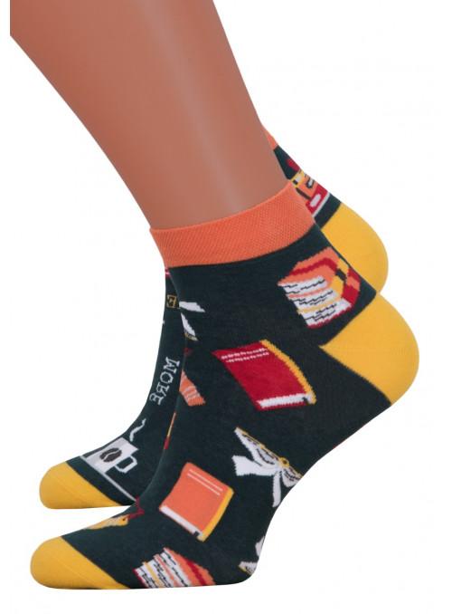 Dámské kotníkové ponožky 034/012 MORE