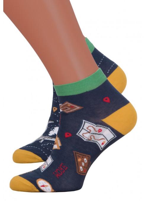 Dámské kotníkové ponožky 034/015 MORE