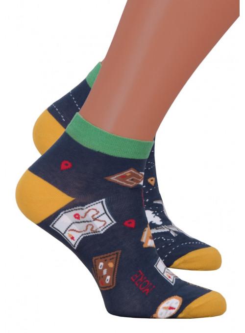 Pánské kotníkové ponožky 035/012 MORE