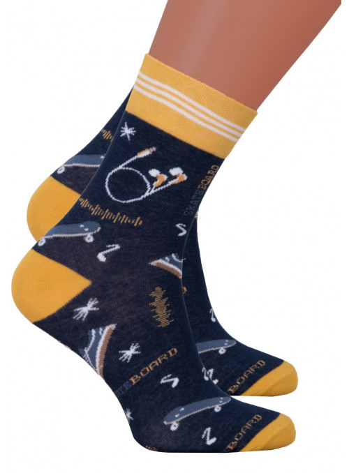 Chlapecké klasické ponožky 060/276 STEVEN