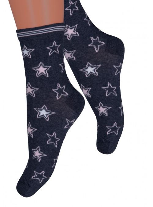 Dívčí klasické ponožky 014/379 STEVEN