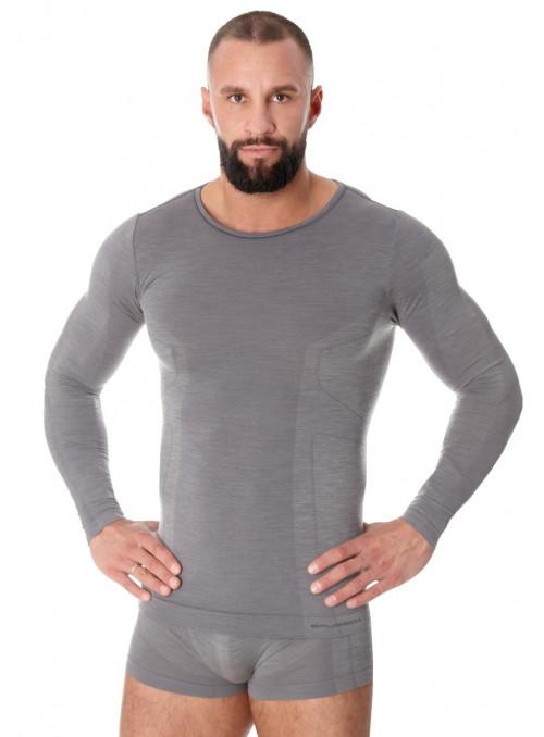 Pánské tričko Merino LS11600 BRUBECK | velkoobchod HOTEX