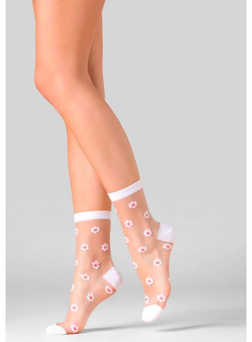 Dámské klasické ponožky Daisy 525 GABRIELLA