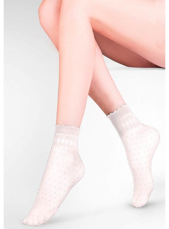 Dámské kotníkové ponožky Pia 695 GABRIELLA