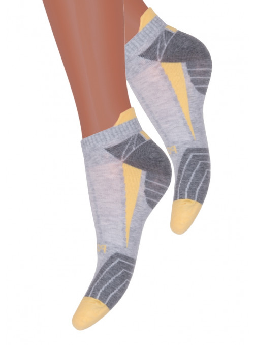 Dámské kotníkové ponožky vzor 050/101 STEVEN