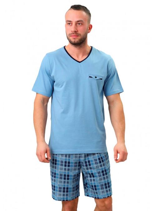 Pánské pyžamo Leon 710 HOTBERG   velkoobchod HOTEX