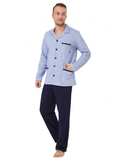 Pánské pyžamo Ambrozy 196 HOTBERG | velkoobchod HOTEX