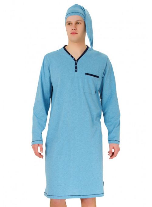 Pánská noční košile Bonifac 358 HOTBERG | velkoobchod HOTEX