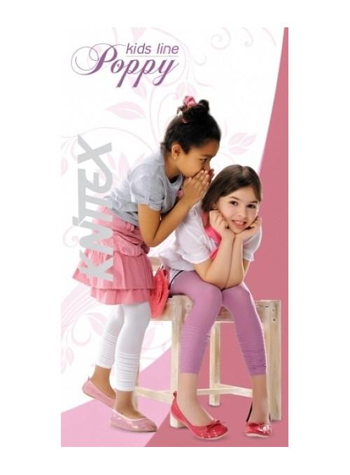 Dívčí leginy Poppy KNITTEX | bílá | velkoobchod HOTEX