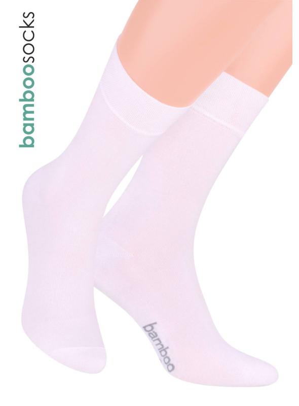 Pánské Klasické ponožky 086 STEVEN | bílá | velkoobchod HOTEX